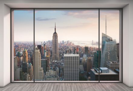 Non-woven New York Penthouse wallpaper